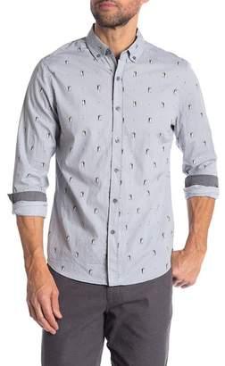 Heritage Penguin Print Slim Fit Shirt