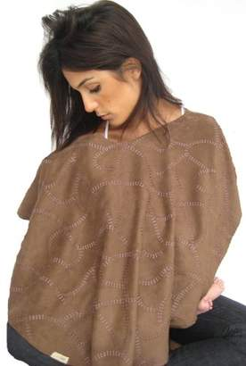 L'ovedbaby L'oved Baby 4 in 1 Nursing Shawl - Brown