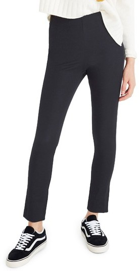 Women's Madewell Fraser Slim Ponte Pants