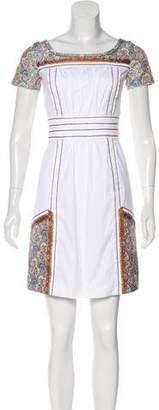 Prada Brocade Mini Dress