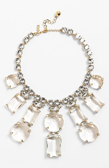 Kate Spade 'opening Night' Crystal Statement Necklace