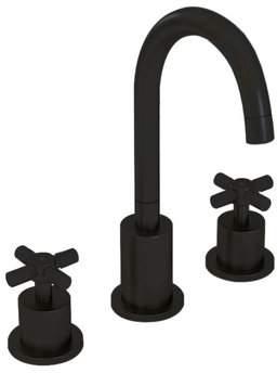 Ancona Prima Widespread Bathroom Faucet Flow Rate: 0.2 GPM,