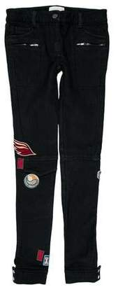 3.1 Phillip Lim Mid-Rise Embroidered Skinny Jeans w/ Tags