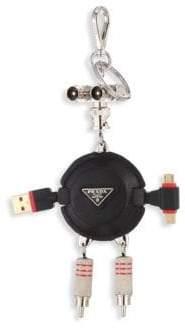 Prada Trick Robot Charger Keychain
