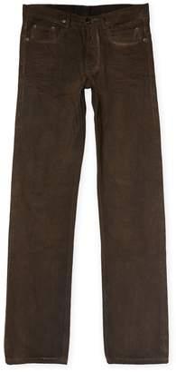 Rick Owens Men's Berlin Cut Slim Jeans