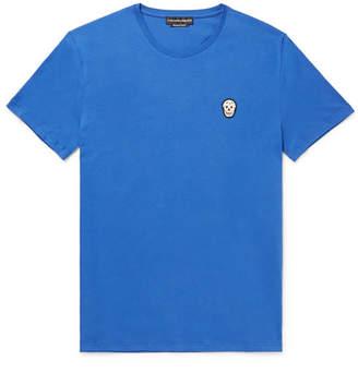 Alexander McQueen Zardozi-Appliquéd Cotton-Jersey T-Shirt
