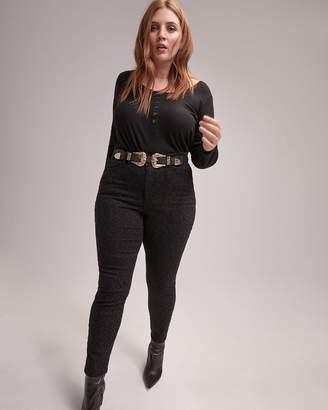 Skinny Leopard-Print Jeans - L&L