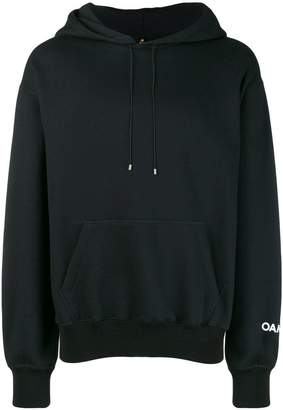 Oamc Ghosts patch hoodie