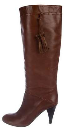 Saks Fifth Avenue Leather Knee-High Boots