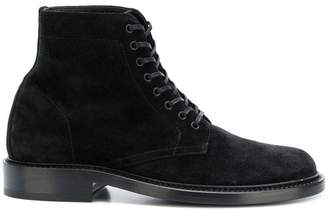 Saint Laurent ankle lace-up boots