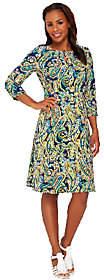 Liz Claiborne New York Heritage CollectionCrepe Dress