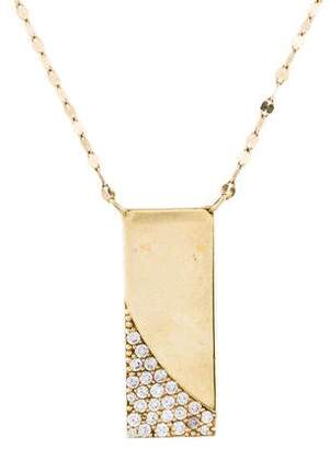 Lana 14K Diamond Electric Illusion Pendant Necklace