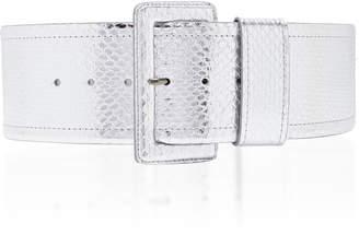 Carolina Herrera Wide Snake Waist Belt