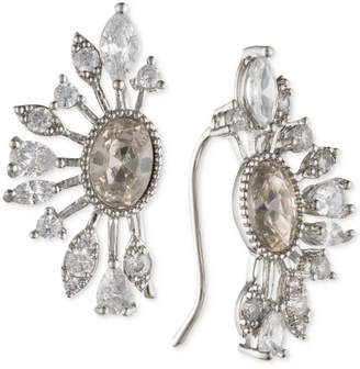 Jenny Packham Crystal & Stone Ear Climber Earrings