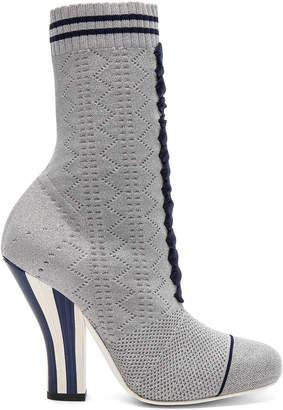 Fendi Knit Rockoko Booties