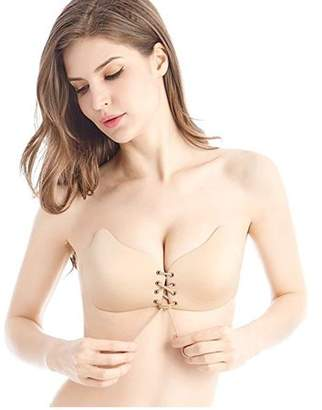 68a2f196fec7b at Walmart.com · Generic Women s Strapless Backless Invisible Reusable  Sticky Push Up Bras