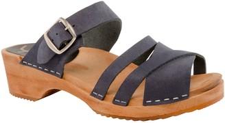 Cape Clogs Wooden Open Toe Sandals - Pia