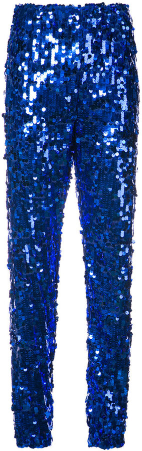 MSGM sequinned jogging bottoms