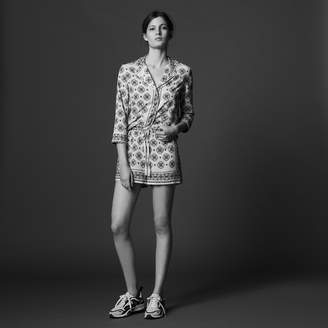 Sandro Mosaic print short floaty shorts