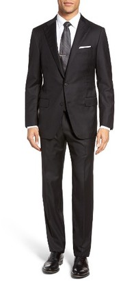 Men's Hickey Freeman Hamilton Classic Fit Stripe Wool Suit $1,695 thestylecure.com