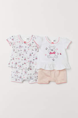 H&M 2-pack cotton pyjamas