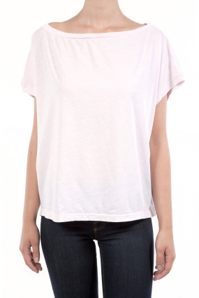 Mark and Estel Loose Fit Tee Pink