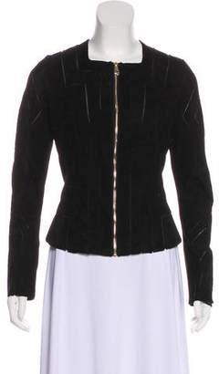 Versace Suede Zip Jacket