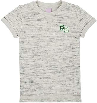 Scotch R'Belle KIDS' LOGO MARLED COTTON-BLEND T-SHIRT