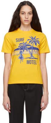 McQ Yellow Surf Motel T-Shirt