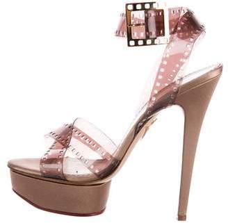 Charlotte Olympia Girls On Film Platform Sandals