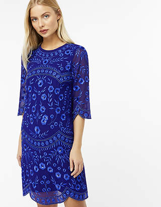 Monsoon Diana Embellished Short Dress