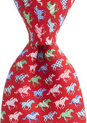 Vineyard Vines Horse Silks Tie