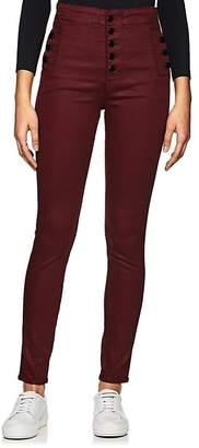 J Brand Women's Natasha Coat High-Rise Skinny Jeans