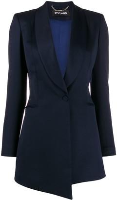 Styland shawl lapel long-line blazer