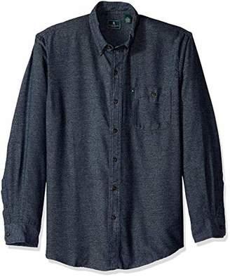 G.H. Bass & Co. Men's Jaspe Flannel Long Sleeve Shirt