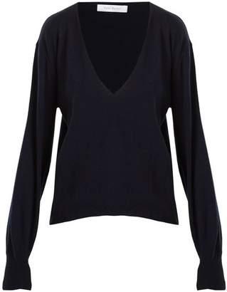 Roche RYAN Deep V-neck cashmere sweater
