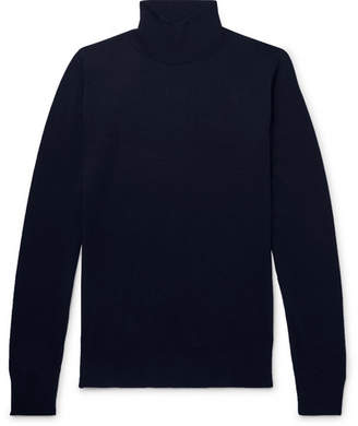 Dries Van Noten Slim-Fit Stretch-Merino Wool Rollneck Sweater