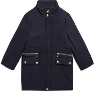 Chloé Zip Detail Coat