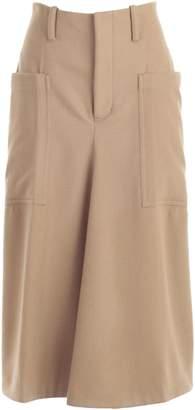 Y's Y`s Flared Midi Skirt
