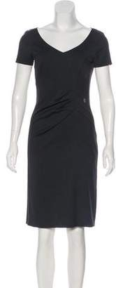 John Galliano Knee-Length Sheath Dress