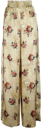 Golden Goose All-over Floral Design Pants