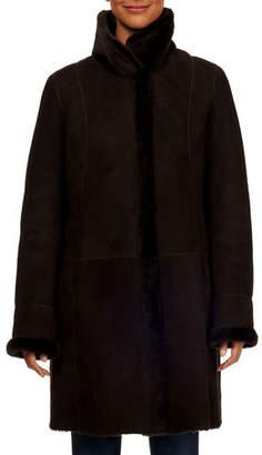 Gorski Reversible Lamb Shearling Jacket