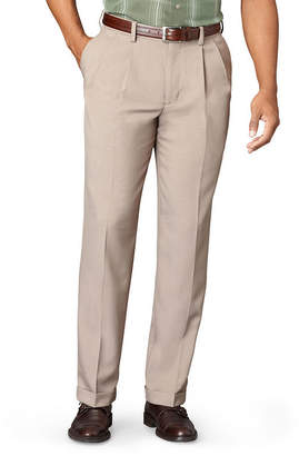 Van Heusen Men's No-Iron Extender Pleated Pants - Big & Tall