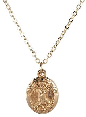 Best Silver Inc. 14K Gold Guadalupe Necklace