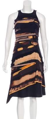 Bottega Veneta Sleeveless Knee-Length Dress