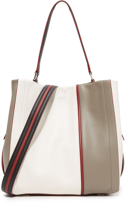 DKNY Greenwich Bucket Bag $578 thestylecure.com