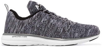 Athletic Propulsion Labs - Techloom Pro Mesh Sneakers - Gray $140 thestylecure.com