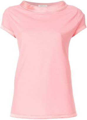 Lamberto Losani trim neck T-shirt
