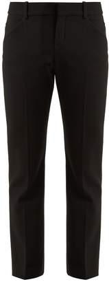 CHLOÉ Straight-leg stretch-wool trousers