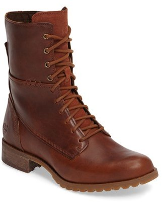 Women's Timberland Banefield Military Boot $199.95 thestylecure.com